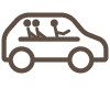 Cobertura en vehículos de uso compartido