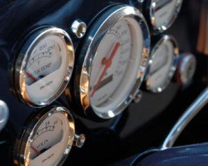 cuadro relojes coche