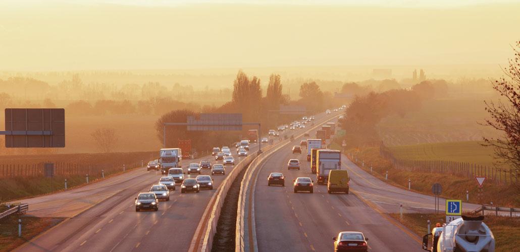 A menos diesel más dióxido de carbono