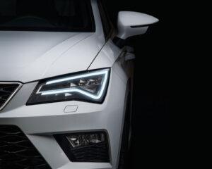 Frontal coche diseño