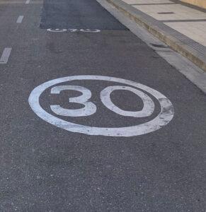 Nuevo límite 30 km h