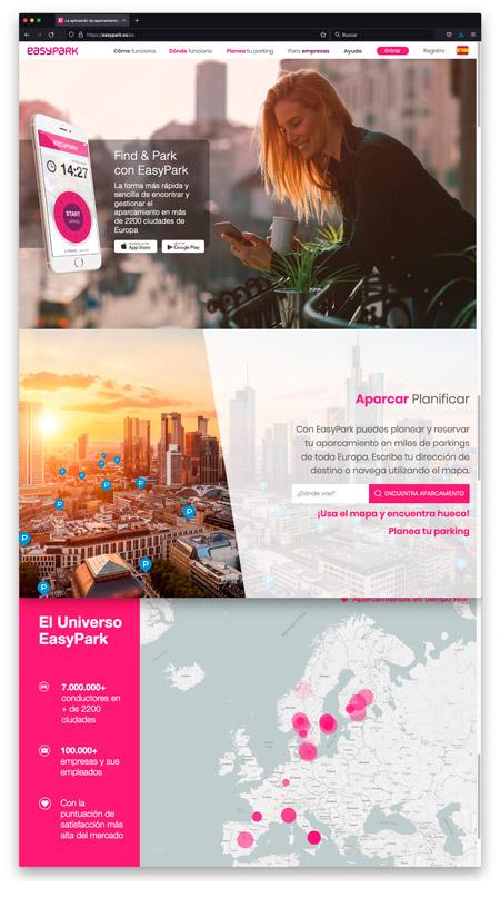 Web EasyPark