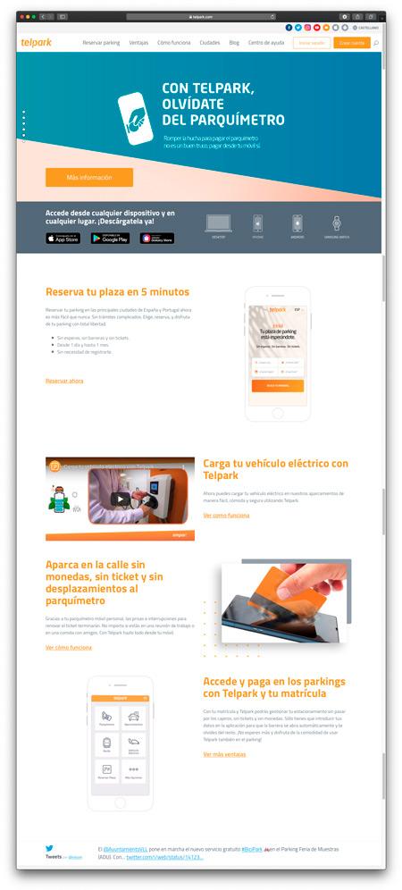 Web TelPark