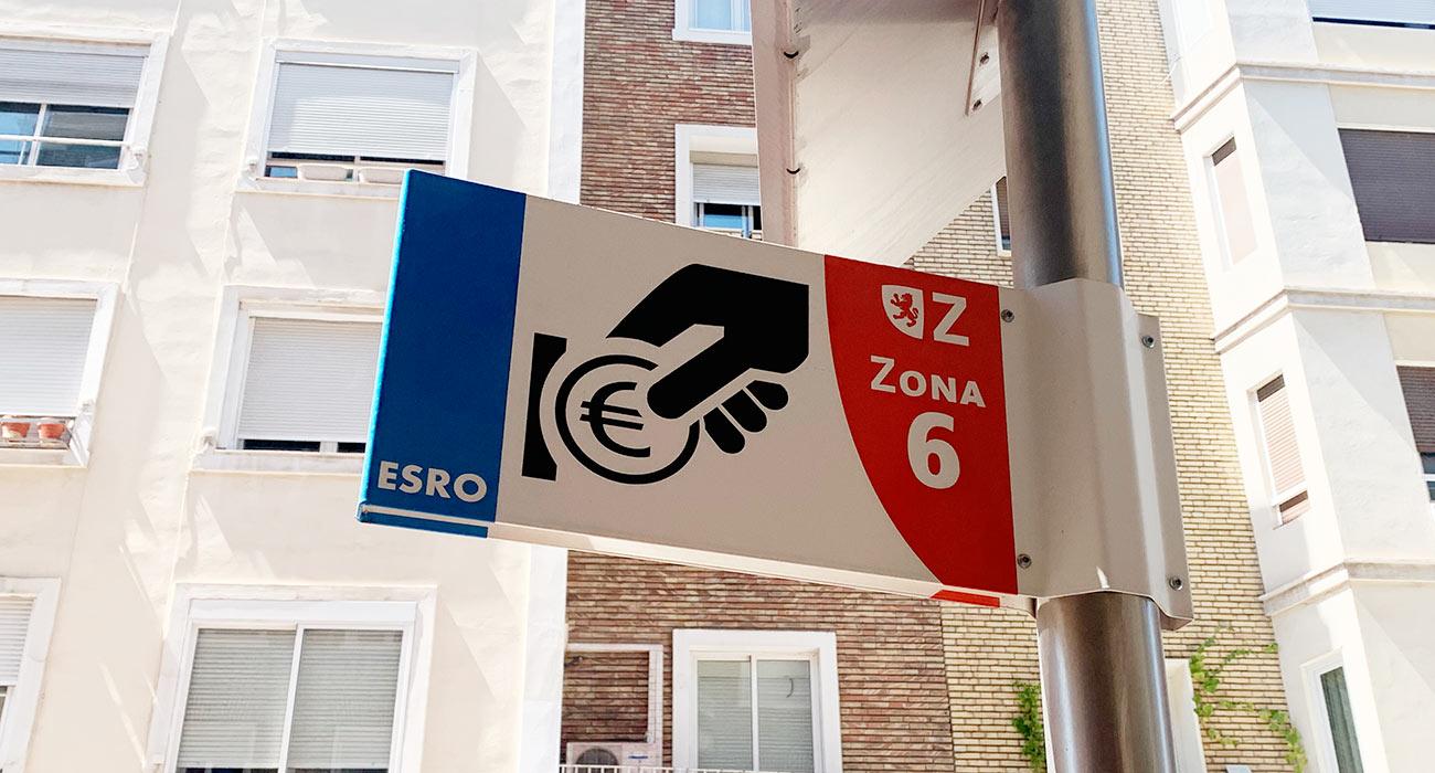 Banderola Zona Azul